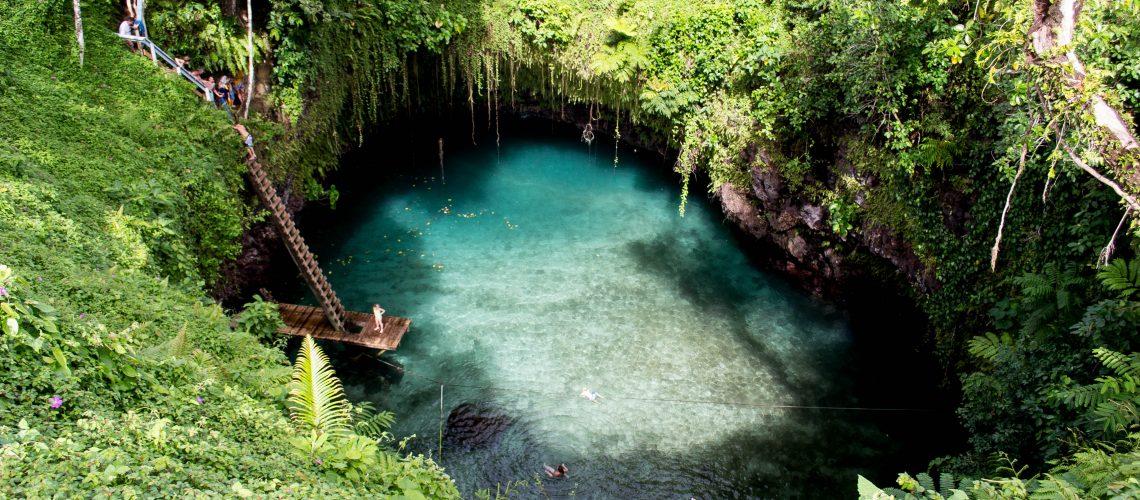 ToSua Ocean Trench Samoa