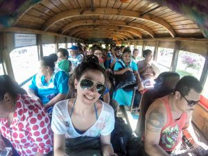 wooden bus samoa