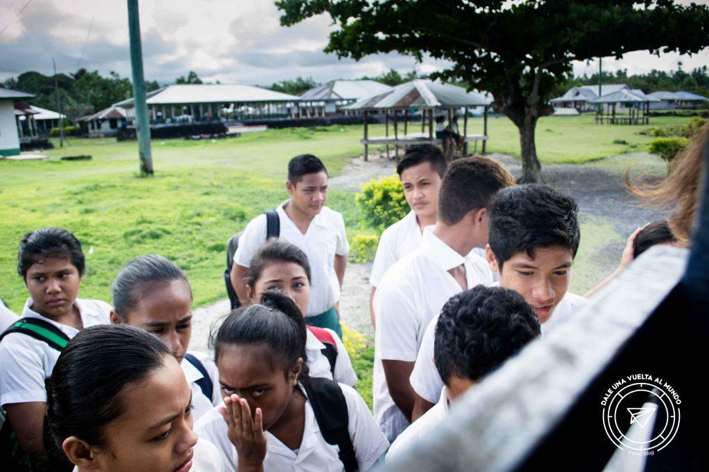 Savaii Samoa school