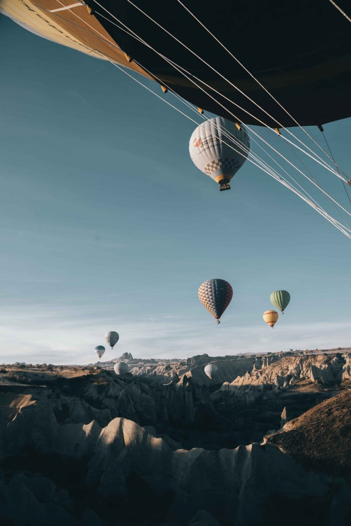 Hot Air Balloons Cappadocia Turkey